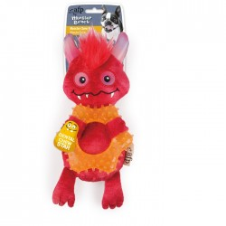 All For Paws Peluches Monstruosos Monster Bunch - Aro Rojo 24,5x10,5x6cm