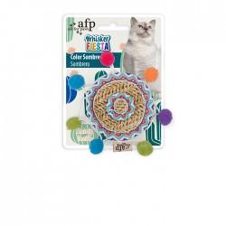 All For Paws Juguetes para gatos Whisker Fiesta - Sombrero 11x11x1,3cm
