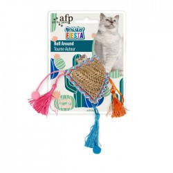 All For Paws Juguetes para gatos Whisker Fiesta - Roll around 24x14x5,5cm