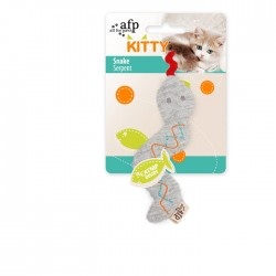 All For Paws Juguetes para gatitos Kitty  - Serpiente 16x5x0,80cm