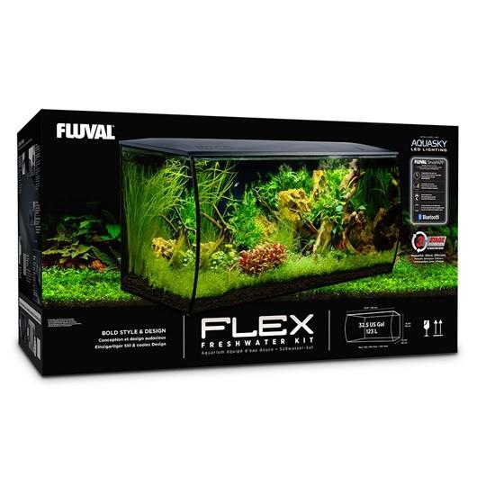 Fluval Flex 123 litros Negro