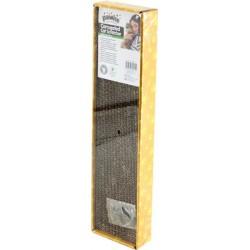 Pawise Cartón para rascar con catnip - Estrecho 48x12,5cm