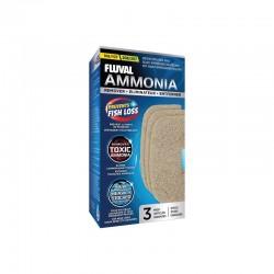 Almohadillas Filtrantes Químicas para Fluval Serie 07 - Eliminador Amoniaco 107/207