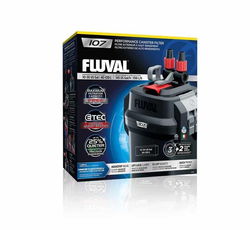 Fluval 107  Filtro Externo