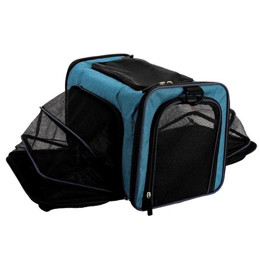 Dogit Explorer Bolso Expandible Azul