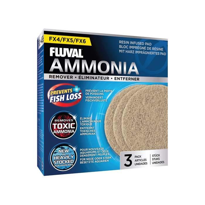Fluval FX4/6 Almohadilla Elimina Amonia,3pcs