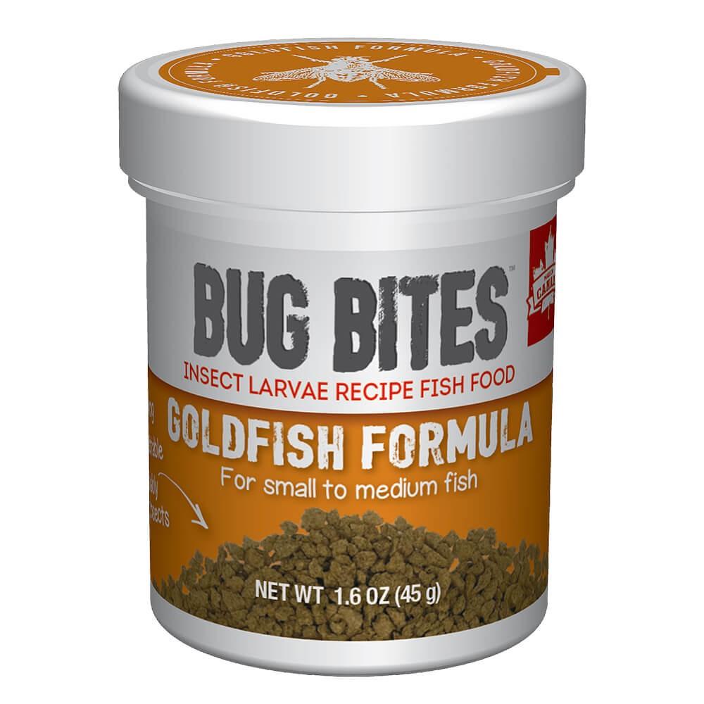 Fluval Bug Bites Agua Fría Gránulos, 45g, 1,4-2mm