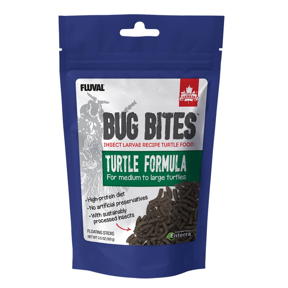 Fluval Bug Bites Tortuga Stick 100g 17-20mm