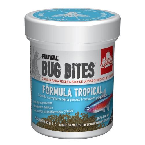 Fluval Bug Bites Tropical Micro Grán.45g 0,6-1,2mm