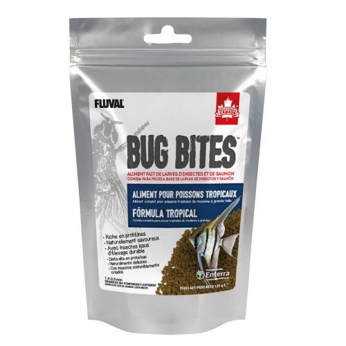 Fluval Bug Bites Tropical 125g Gránulo 1,4-2mm