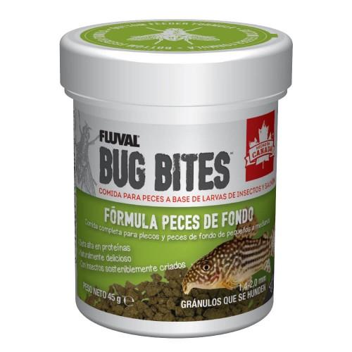 Fluval Bug Bites Plecos Gránulos 45g 1,4-2mm