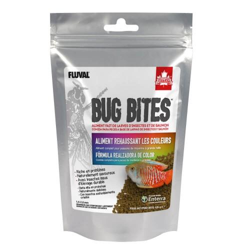 Fluval Bug Bites Color Gránulos 125g 1,4-2mm