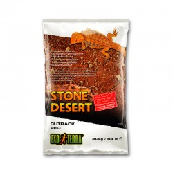 Sustrato Stone Desert Exo Terra - Outback Red 20KG