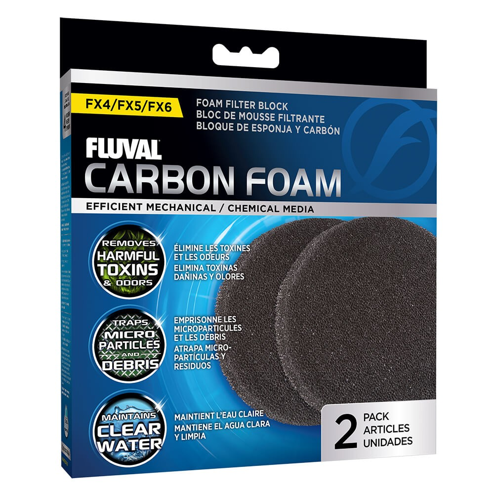 FLUVAL FX5/6 FOAMEX/CARBON 3 PC LARGO USO