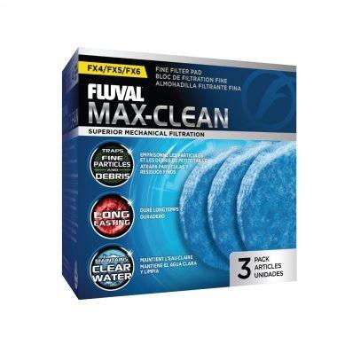 FLUVAL FX6 Foamex Fino 3 uds