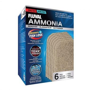 Fluval 307/407 Almohadilla Elimina Amonia,6pc