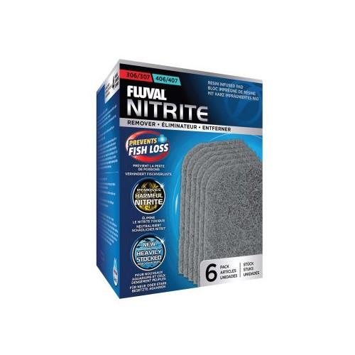 Almohadilla Eliminador de nitrito 6 pc para acuarios Fluval 307/407