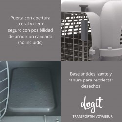 Transportin Dogit Voyageur - Peq.Azul/Gris