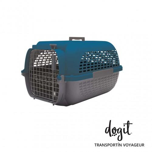 Dogit Pet Voyageur Med. Azul/Gris