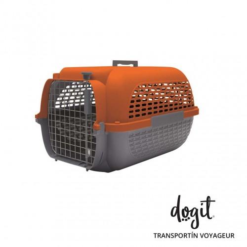 Dogit Pet Voyageur Med. Naranja/Gris