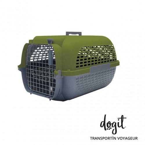 Dogit Pet Voyageur Gde.Verde/Gris