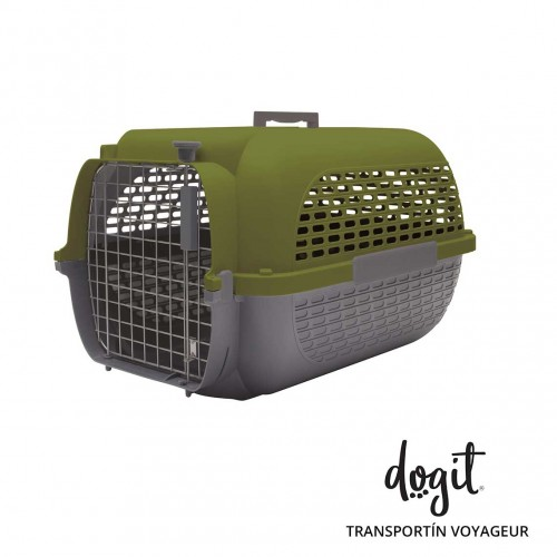 Dogit Pet Voyageur X-Gde. Verde/Gris