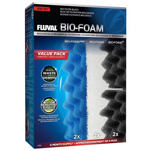 Fluval 307 Bio-Foam Pack 6 Meses