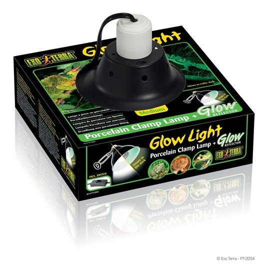 EXO TERRA GLOW LIGHT (LAMPARA) 21,25 CMS DIµMETR
