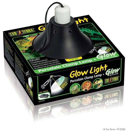 EXO TERRA GLOW LIGHT (LAMPARA)25 CMS DIµMETRO