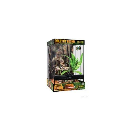 Terrario para reptiles Gecko Crestado 30x30x45 cm