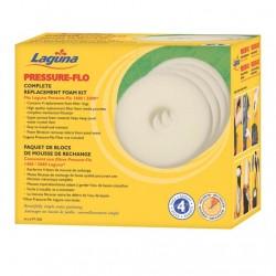 Foamex Repuesto para Filtro Pressure Flo LAGUNA  - 5000 l 4 unid
