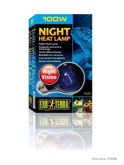 EXO TERRA NIGHT GLO LµMPARA INCANDESCENTE 100 W