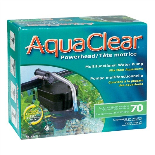 AQUACLEAR 70 POWER HEAD (802)