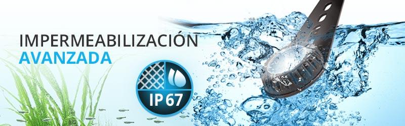 Impermeabilización IP67