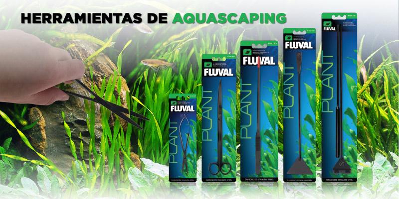 Herramientas para Aquascaping de Fluval