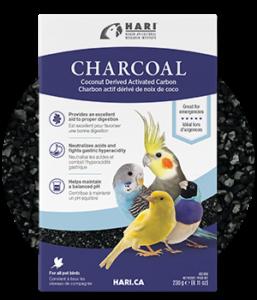 Muestra del carbón activado de Hari