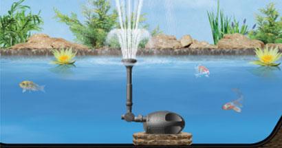 Powerjet y Bomba Max Flo Laguna para estanques