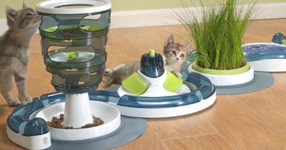 Catit senses juguetes interactivos para gatos