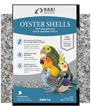 conchas de ostras trituradas HARI