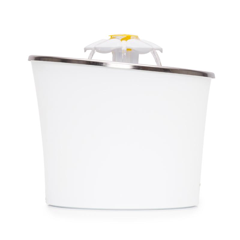 Design ergonômico da fonte de flores de aço inoxidável Catit LED