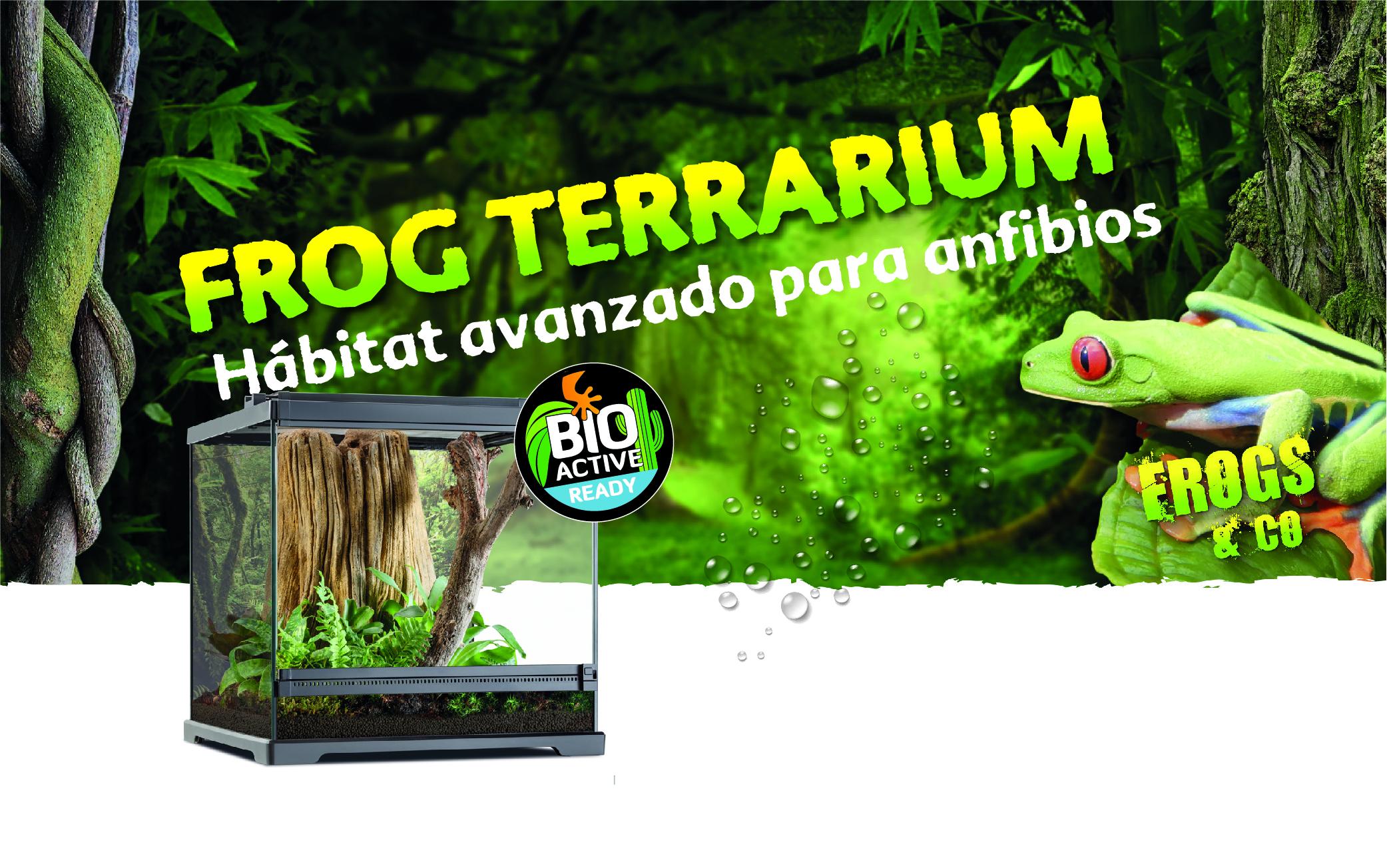 Frogs & Co Terrarios para ranas Exo Terra