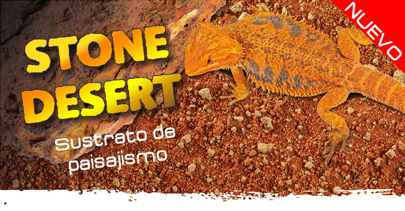 Nuevo sustrato de paisajista Stone Desert de Exo Terra