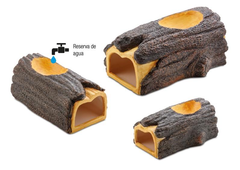 Depósito de agua superior de las Cuevas Wet Log Exo Terra