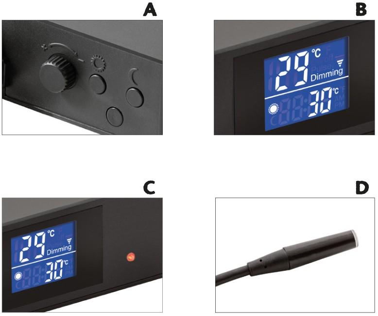 Características principales del termostato Exo Terra